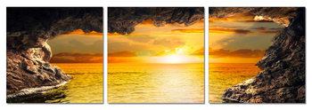 Obraz Moře - pohled na západ slunce