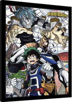 My Hero Academia - An Enemy Threat zarámovaný plakát
