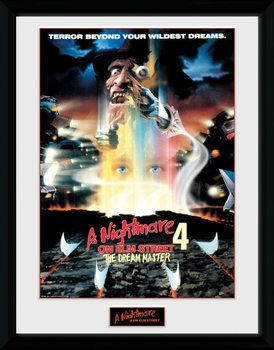 Nightmare On Elm Street - Poster zarámovaný plakát