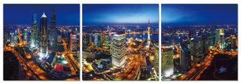 Obraz Noční osvětlené město