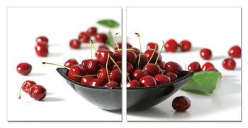 Obraz Ovoce - Třešně v misce