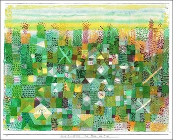 Obrazová reprodukce  P.Klee - Die Flora Der Heide