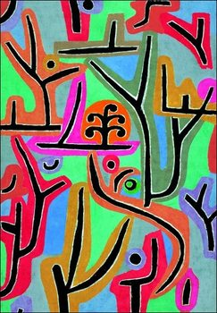 Obrazová reprodukce  P.Klee - Park Bei Lu