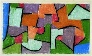 Obrazová reprodukce P.Klee - Uber Land