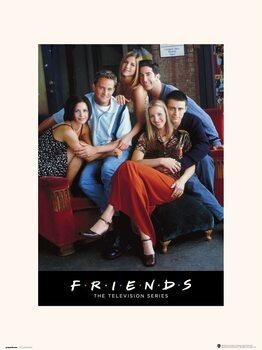 Priatelia - Characters Obrazová reprodukcia