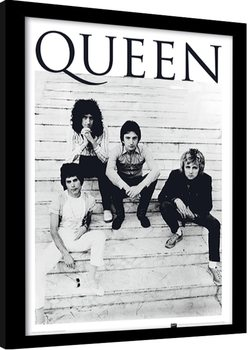 Queen - Brazil 1981 oprawiony plakat