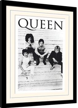 Queen - Brazil 81 zarámovaný plakát
