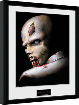 Resident Evil - Zombie oprawiony plakat