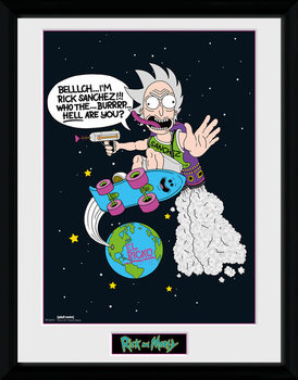 Rick and Morty - El Ricko zarámovaný plakát