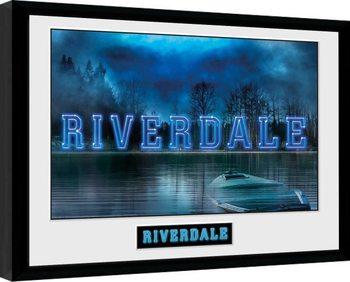 Riverdale - Logo zarámovaný plakát