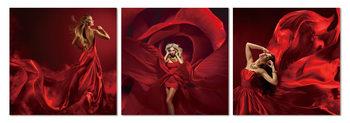 Obraz  Rudý tanec