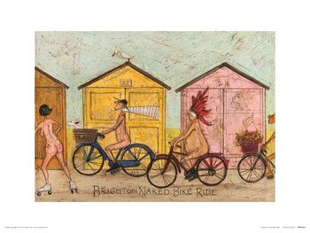 Obrazová reprodukce Sam Toft - Brighton Naked Bike Ride