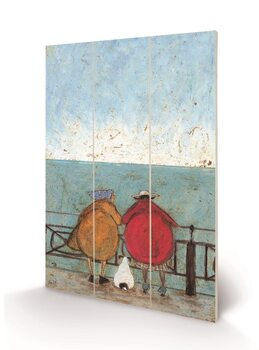 Obraz na drewnie Sam Toft - Doris Earwigging