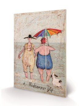 Obraz na drewnie Sam Toft - Midsummer Dip