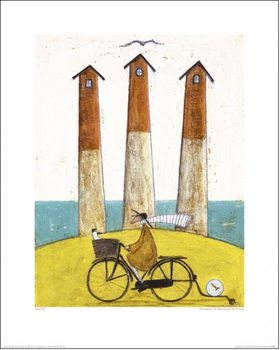 Obrazová reprodukce Sam Toft - The Square, The Round And The Arched