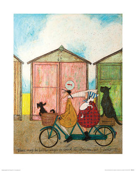 Obrazová reprodukce  Sam Toft - There may be Better Ways to Spend an Afternoon...