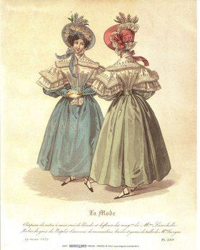Obrazová reprodukce  Šaty 2