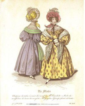 Obrazová reprodukce  Šaty 3