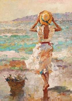 Seaside Summer I Obrazová reprodukcia