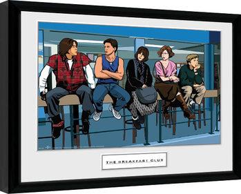 Snídaňový Klub - Illustration Characters zarámovaný plakát