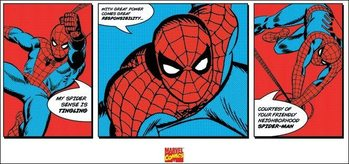 Obrazová reprodukce  Spider-Man - Triptych