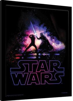 Star Wars - Battle zarámovaný plakát