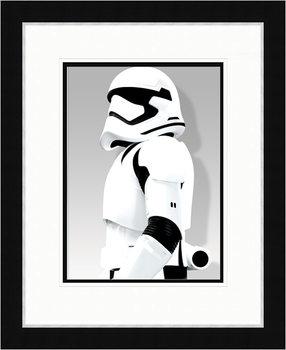 Star Wars VII: Síla se probouzí - Stormtrooper Shadow zarámovaný plakát