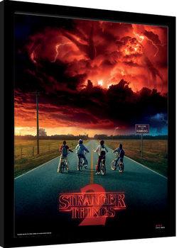 Stranger Things - Mind Flayer zarámovaný plakát