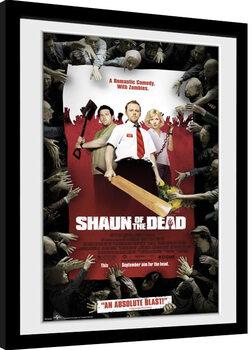 Súmrak mŕtvych - Key Art Zarámovaný plagát