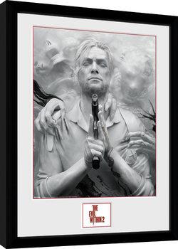 The Evil Within 2 - Key Art zarámovaný plakát