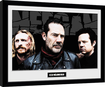 The Walking Dead - Negan Crew zarámovaný plakát