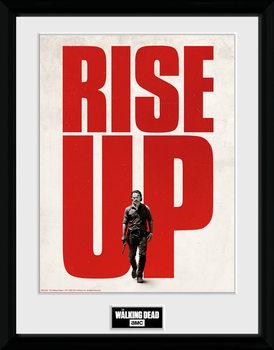 The Walking Dead - Rise Up zarámovaný plakát