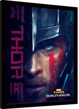 Thor Ragnarok - Thor Zarámovaný plagát
