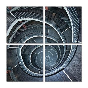 Obraz  Točité schodiště