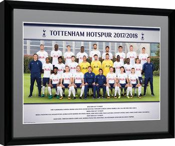 Tottenham Hotspur - Team Photo 17/18 zarámovaný plakát