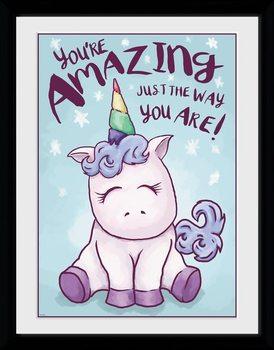 Unicorn - Amazing zarámovaný plakát