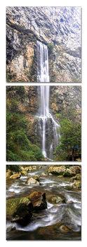 Obraz  Vodopád v lese