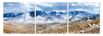 Obraz  Zmrzlé pohoří