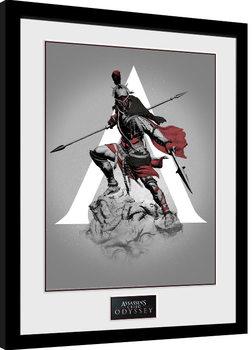 Zarámovaný plakát Assassins Creed Odyssey - Graphic