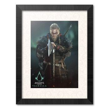 Oprawiony plakat Assassins Creed: Valhalla