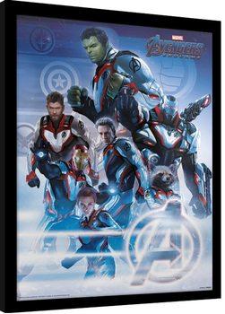 Zarámovaný plakát Avengers: Endgame - Quantum Realm Suits