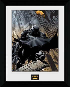 Oprawiony plakat Batman Comic - Stalker