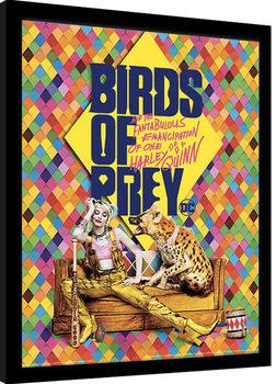 Zarámovaný plakát Birds Of Prey: Podivuhodná proměna Harley Quinn - Harley's Hyena