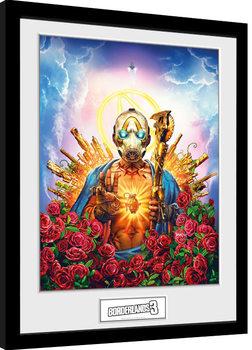 Zarámovaný plakát Borderlands 3 - Cover