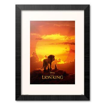 Oprawiony plakat Disney - Lion King