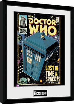 Oprawiony plakat Doctor Who - Tarids Comic