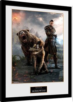 Oprawiony plakat Elder Scrolls Online: Morrowind - Trio