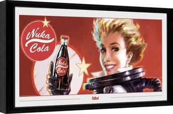 Zarámovaný plakát Fallout - Nuka Ad
