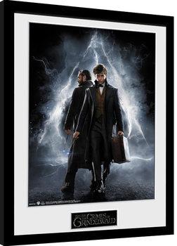 Oprawiony plakat Fantastyczne zwierzeta: Zbrodnie Grindelwalda - One Sheet