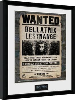 Oprawiony plakat Harry Potter - Bellatrix